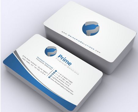 Prime Financial Solutions Business Cards and Stationery  Draft # 175 by Deck86
