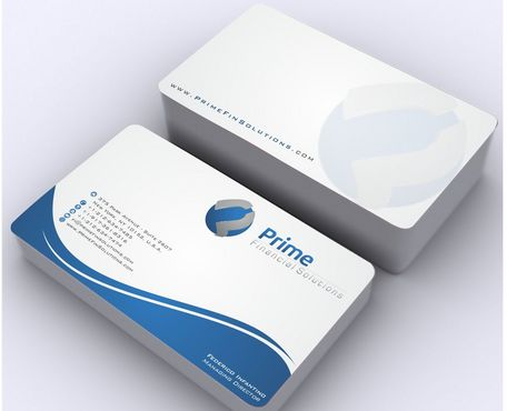 Prime Financial Solutions Business Cards and Stationery  Draft # 177 by Deck86