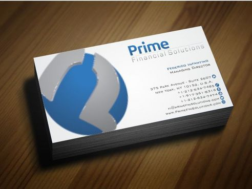 Prime Financial Solutions Business Cards and Stationery  Draft # 181 by Deck86
