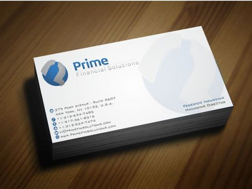 Prime Financial Solutions Business Cards and Stationery  Draft # 183 by Deck86