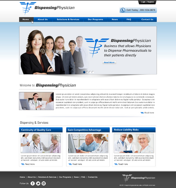 Website for Business that allows Physicians to Dispense Pharmaceuticals