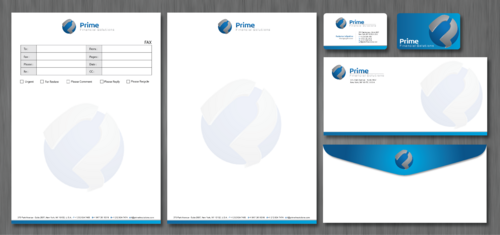 Prime Financial Solutions Business Cards and Stationery  Draft # 227 by ArtworksKingdom