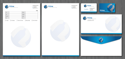 Prime Financial Solutions Business Cards and Stationery  Draft # 228 by ArtworksKingdom