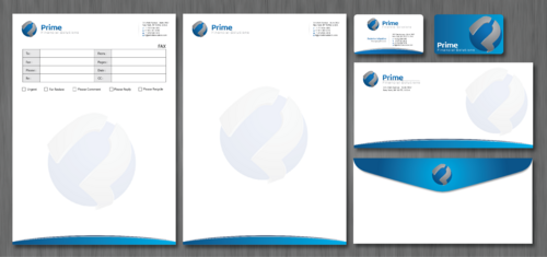 Prime Financial Solutions Business Cards and Stationery  Draft # 230 by ArtworksKingdom