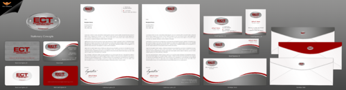 Coatings Company Business Card Layout