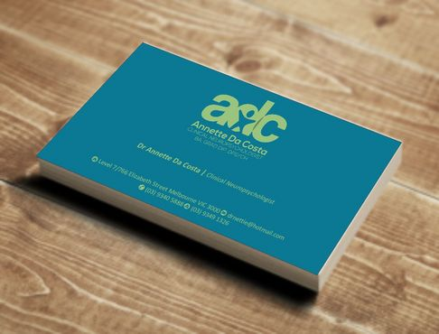 Dr Annette C Da Costa Business Cards and Stationery  Draft # 77 by Deck86