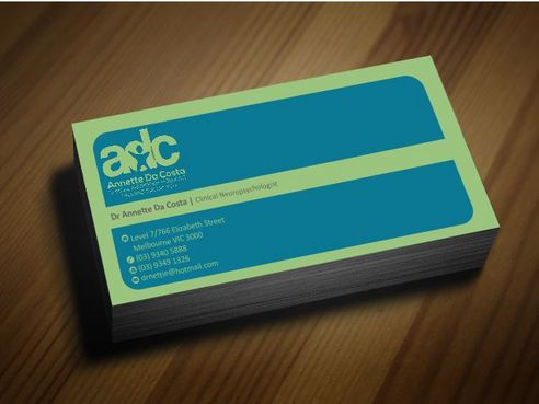 Dr Annette C Da Costa Business Cards and Stationery  Draft # 85 by Deck86