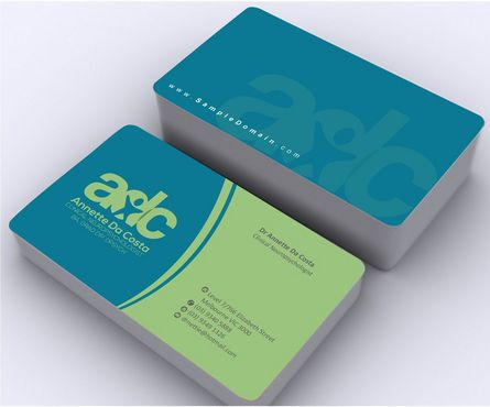 Dr Annette C Da Costa Business Cards and Stationery  Draft # 91 by Deck86