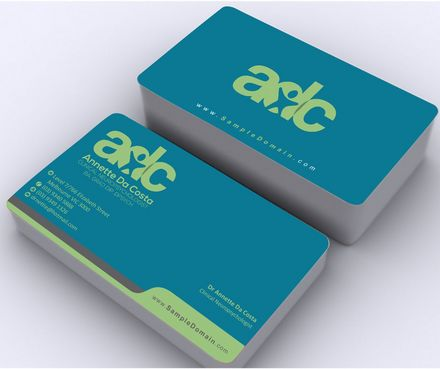 Dr Annette C Da Costa Business Cards and Stationery  Draft # 92 by Deck86
