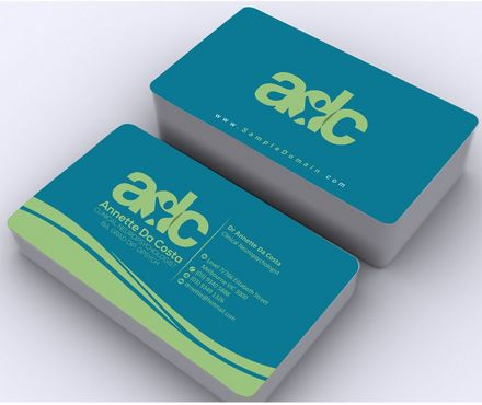 Dr Annette C Da Costa Business Cards and Stationery  Draft # 94 by Deck86