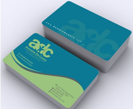Dr Annette C Da Costa Business Cards and Stationery  Draft # 95 by Deck86