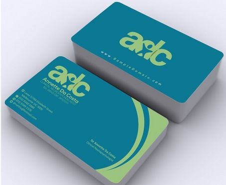 Dr Annette C Da Costa Business Cards and Stationery  Draft # 96 by Deck86