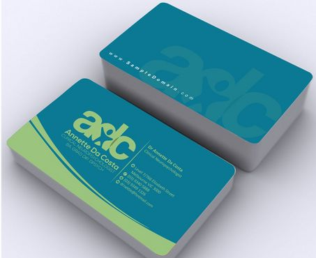 Dr Annette C Da Costa Business Cards and Stationery  Draft # 98 by Deck86