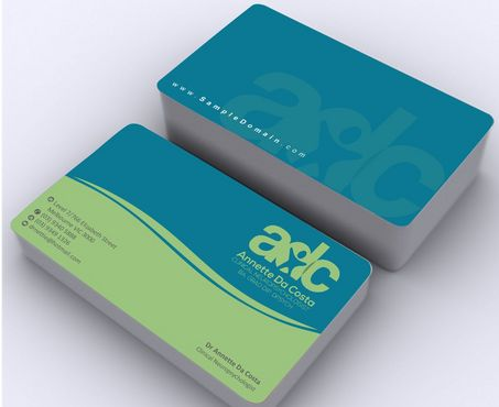 Dr Annette C Da Costa Business Cards and Stationery  Draft # 99 by Deck86