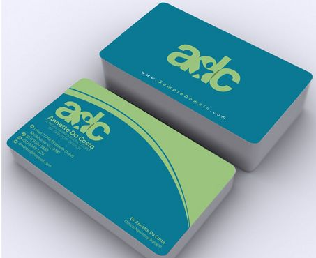 Dr Annette C Da Costa Business Cards and Stationery  Draft # 100 by Deck86