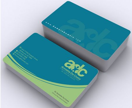 Dr Annette C Da Costa Business Cards and Stationery  Draft # 101 by Deck86