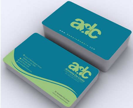 Dr Annette C Da Costa Business Cards and Stationery  Draft # 102 by Deck86
