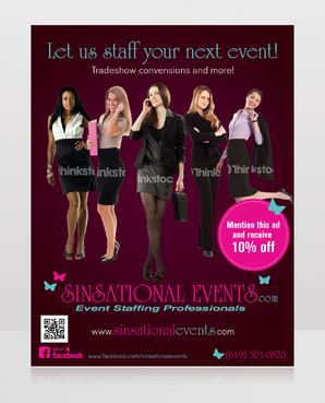 Sinsational Events  Marketing collateral  Draft # 8 by monski