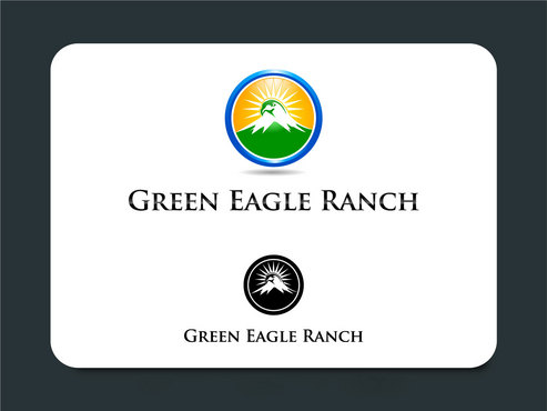 Green Eagle Ranch A Logo, Monogram, or Icon  Draft # 5 by designsgreen