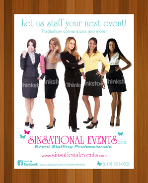 Sinsational Events  Marketing collateral  Draft # 86 by monski