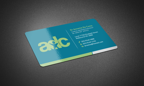 Dr Annette C Da Costa Business Cards and Stationery  Draft # 131 by einsanimation