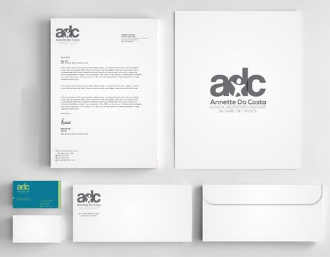 Dr Annette C Da Costa Business Cards and Stationery  Draft # 136 by Deck86