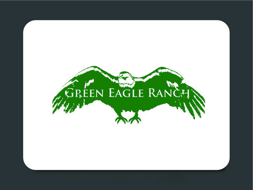 Green Eagle Ranch A Logo, Monogram, or Icon  Draft # 14 by designsgreen