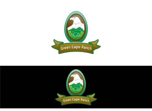 Green Eagle Ranch A Logo, Monogram, or Icon  Draft # 18 by ridhoAllah