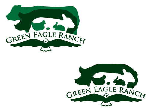 Green Eagle Ranch A Logo, Monogram, or Icon  Draft # 22 by sharl