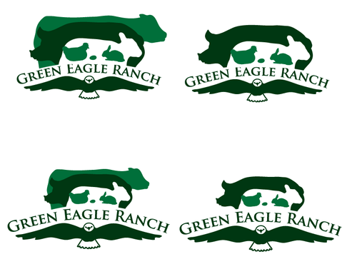 Green Eagle Ranch A Logo, Monogram, or Icon  Draft # 24 by sharl