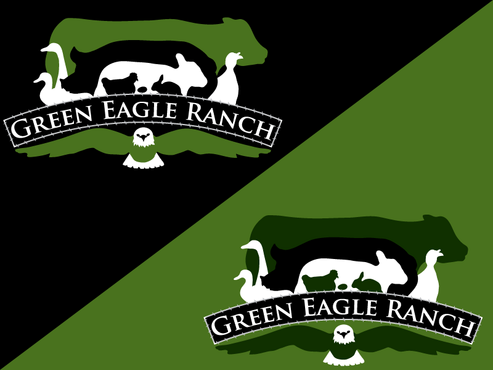 Green Eagle Ranch A Logo, Monogram, or Icon  Draft # 32 by sharl