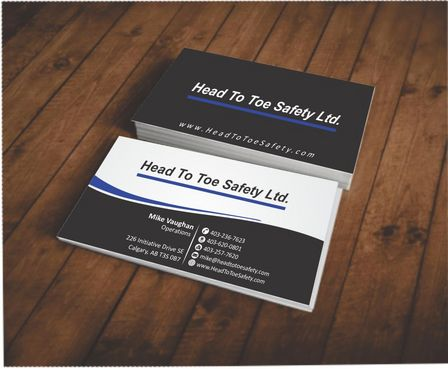 Head To Toe Safety Stationary Business Cards and Stationery  Draft # 65 by Deck86