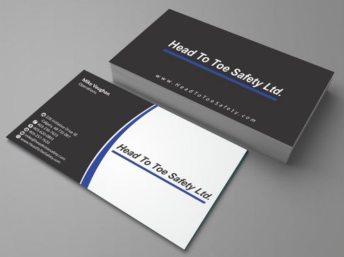 Head To Toe Safety Stationary Business Cards and Stationery  Draft # 76 by Deck86