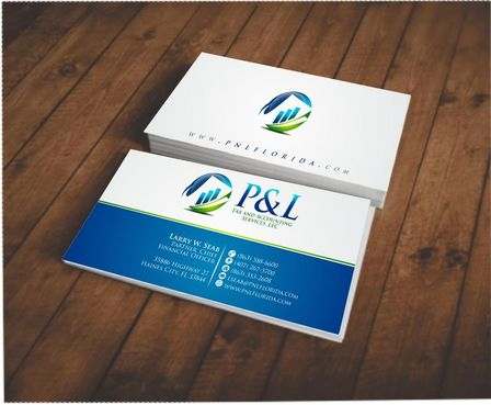 P&L Tax and Accounting Services, LLC Business Cards and Stationery  Draft # 100 by Deck86