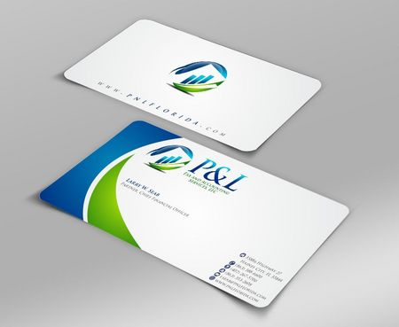 P&L Tax and Accounting Services, LLC Business Cards and Stationery  Draft # 105 by Deck86