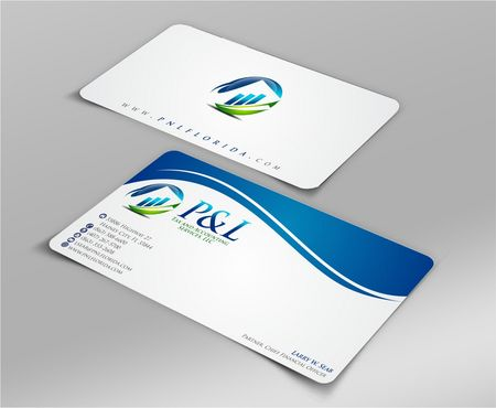 P&L Tax and Accounting Services, LLC Business Cards and Stationery  Draft # 109 by Deck86