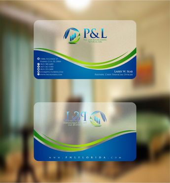 P&L Tax and Accounting Services, LLC Business Cards and Stationery  Draft # 123 by Deck86