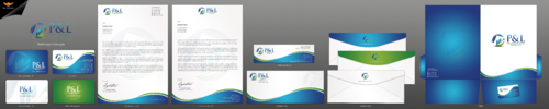 P&L Tax and Accounting Services, LLC Business Cards and Stationery  Draft # 160 by einsanimation
