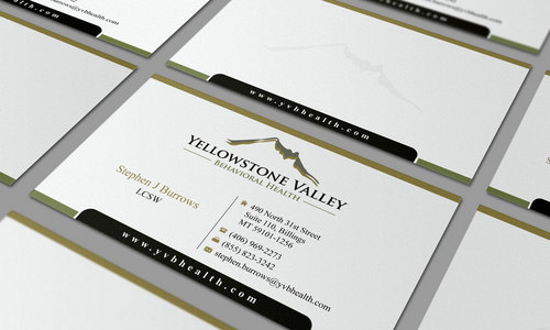 Behavioral Health Organization Business Cards and Stationery  Draft # 307 by Graph