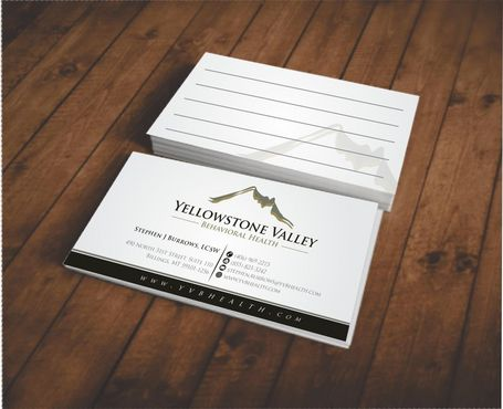 Behavioral Health Organization Business Cards and Stationery  Draft # 318 by Deck86