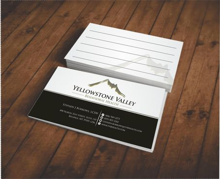 Behavioral Health Organization Business Cards and Stationery  Draft # 319 by Deck86