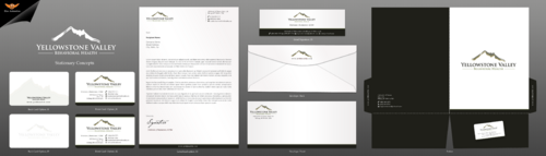 Behavioral Health Organization Business Cards and Stationery  Draft # 321 by einsanimation