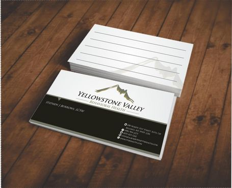 Behavioral Health Organization Business Cards and Stationery  Draft # 322 by Deck86