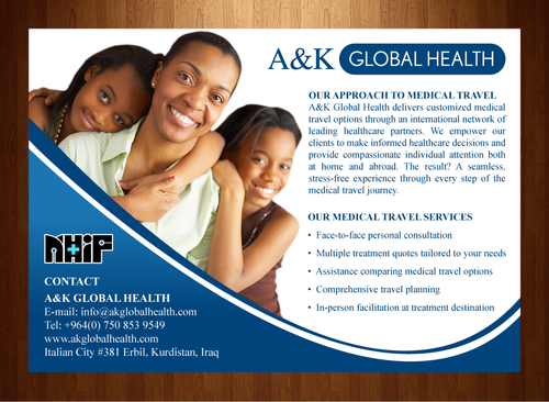 Print Ad Redesign - Global Medical Travel