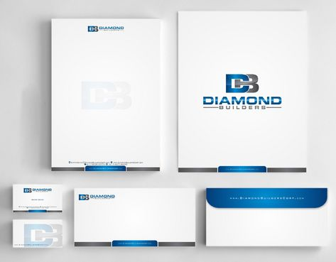 Diamond Builders Business Cards and Stationery  Draft # 201 by Deck86