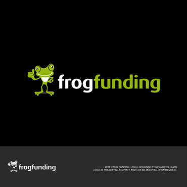 frog funding A Logo, Monogram, or Icon  Draft # 69 by mvillamin
