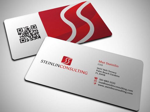Steinlin Consulting Business Cards and Stationery  Draft # 1 by Xpert
