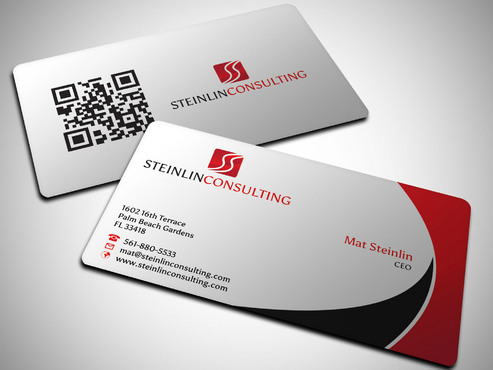 Steinlin Consulting Business Cards and Stationery  Draft # 5 by Xpert