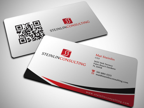 Steinlin Consulting Business Cards and Stationery  Draft # 6 by Xpert