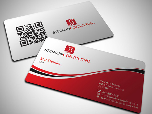Steinlin Consulting Business Cards and Stationery  Draft # 9 by Xpert